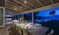The Beach Shack Pool Side Dining | Nusa Lembongan, Bali