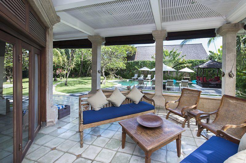 Villa Anyar Outdoor Seating Area | Umalas, Bali