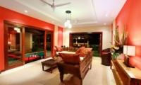 Villa Bukit Lembongan Villa One Living Room | Nusa Lembongan, Bali