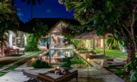 Villa Massilia Four Bedroom Villa Night View | Seminyak, Bali
