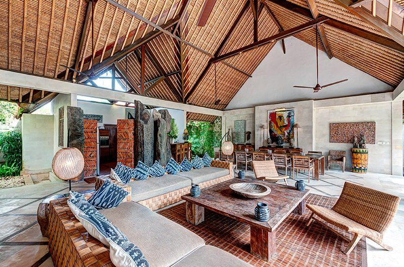 Villa Massilia Four Bedroom Villa Living and Dining Area | Seminyak, Bali