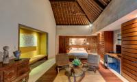 Villa Massilia Four Bedroom Villa Bedroom with Seating Area | Seminyak, Bali