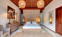 Villa Massilia Three Bedroom Villa Bedroom with Table Lamps | Seminyak, Bali