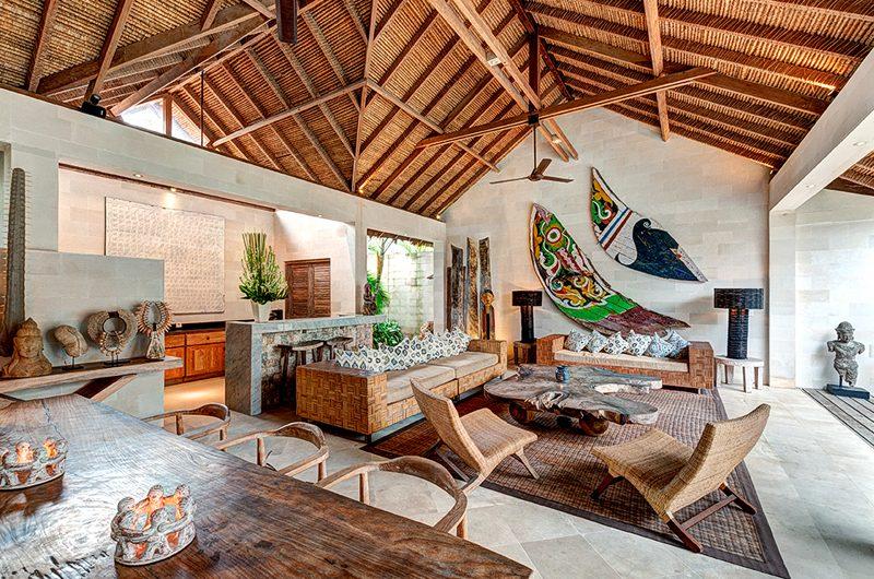 Villa Massilia Three Bedroom Villa Living Area | Seminyak, Bali