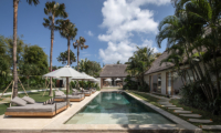 Villa Massilia Dua Pool with Stepping Stone on Side | Seminyak, Bali