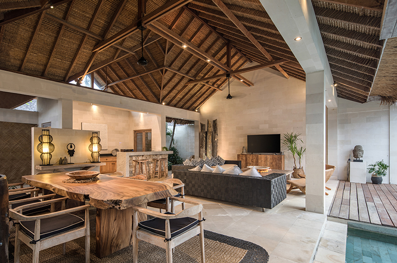 Villa Massilia Tiga Living Room | Seminyak, Bali