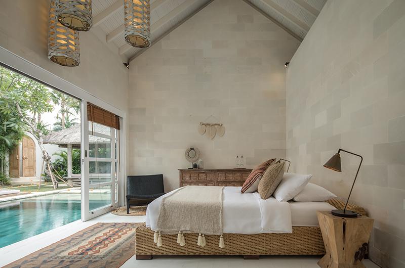 Villa Massilia Tiga Open Plan Bedroom | Seminyak, Bali