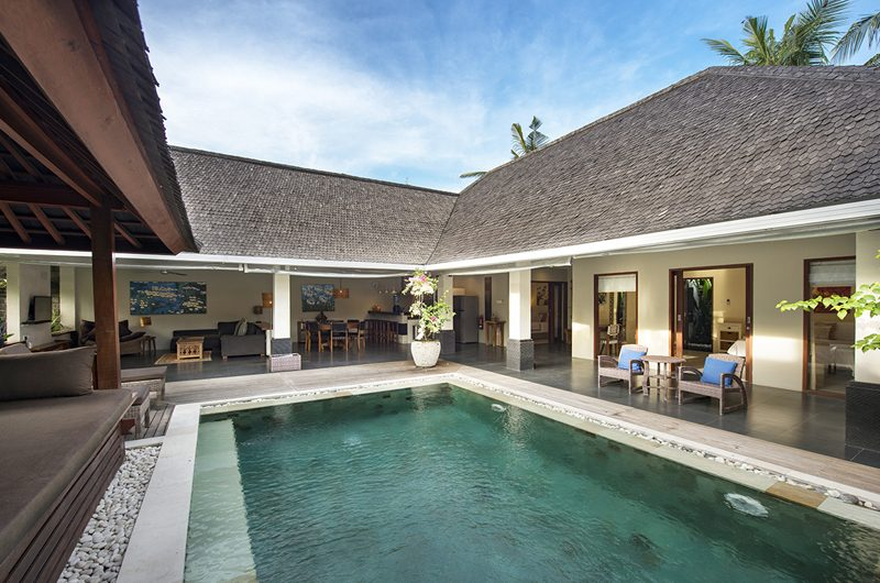 Villa Rinca Anyar Estate Pool Side Living Area | Umalas, Bali