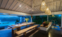 Villa Tranquilla Dining and Kitchen Area   Nusa Lembongan, Bali