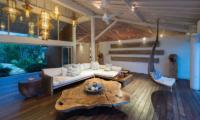 Villa Tranquilla Indoor Living Area   Nusa Lembongan, Bali