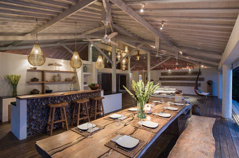 Villa Tranquilla Kitchen and Dining Area   Nusa Lembongan, Bali