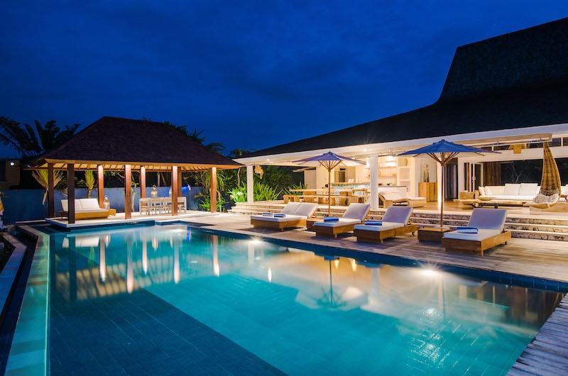 Villa Tranquilla Pool Area   Nusa Lembongan, Bali