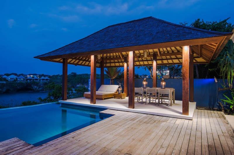 Villa Tranquilla Pool Bale Area   Nusa Lembongan, Bali