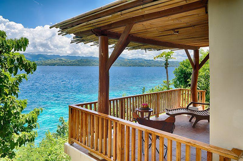 Pure Shores Villa Bathroom Five Balcony | Anda, Bohol