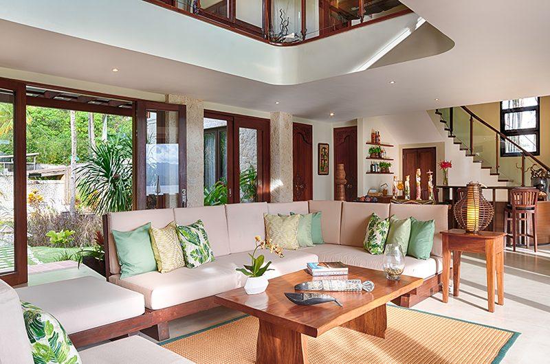 Pure Shores Villa Living Room | Anda, Bohol