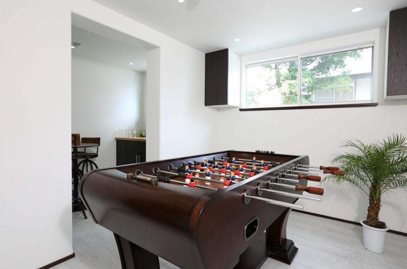Hakuba Slopeside Chalet Foosball Table | Hakuba, Nagano