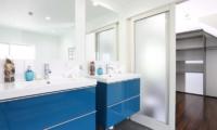 Hakuba Slopeside Chalet En-suite Bathroom | Hakuba, Nagano