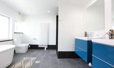 Hakuba Slopeside Chalet Bathroom | Hakuba, Nagano