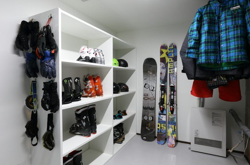 Hakuba Slopeside Chalet Lower Level Dry Room | Hakuba, Nagano