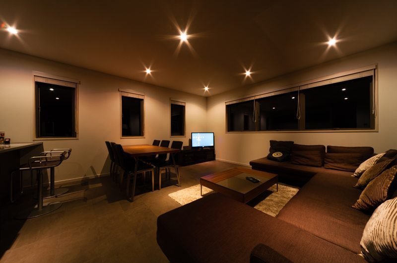 Phoenix Chalets 3br Living And Dining Area | Hakuba, Nagano