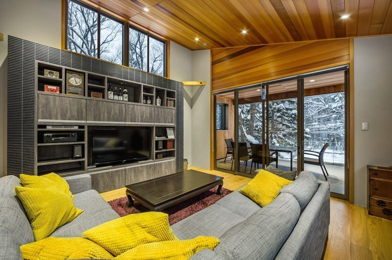 Phoenix Cocoon Living Room | Hakuba, Nagano