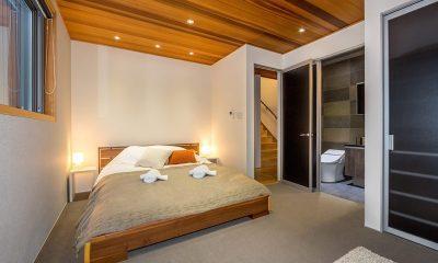 Phoenix Cocoon Guest Bedroom One | Hakuba, Nagano