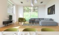 Solar Chalets Living Area | Hakuba, Nagano
