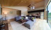 Solar Chalets Living Room | Hakuba, Nagano