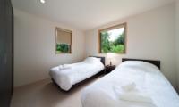 Solar Chalets Twin Bedroom   Hakuba, Nagano