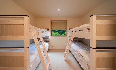 Solar Chalets Bunk Beds | Hakuba, Nagano
