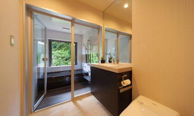 Solar Chalets Bathroom | Hakuba, Nagano