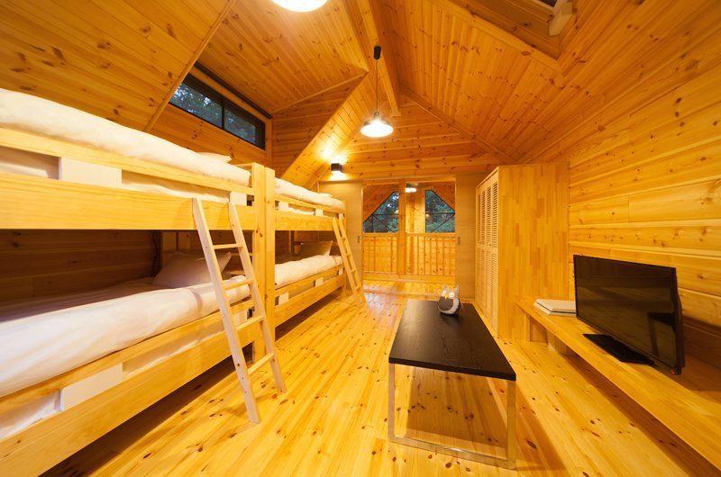 Wadano Woods Bunk Beds | Hakuba, Nagano