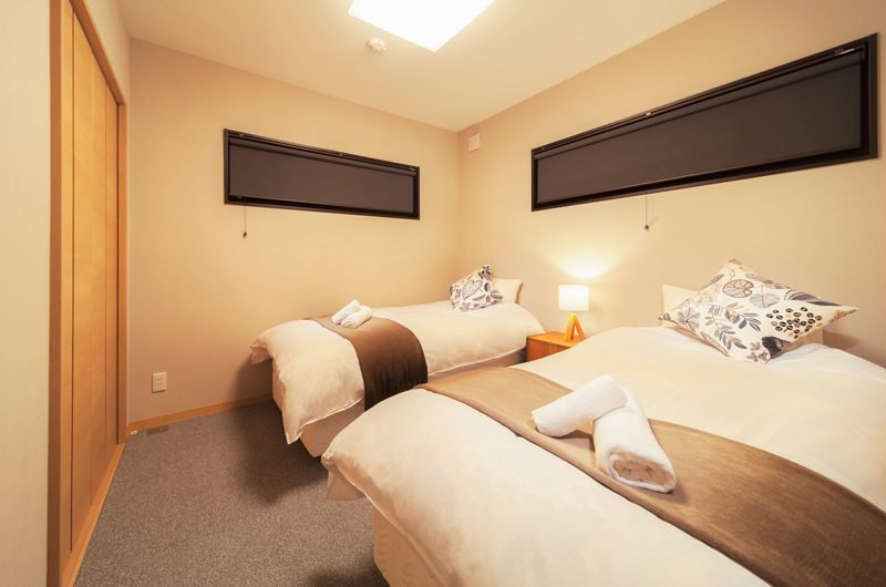Wadano Woods Twin Room | Hakuba, Nagano