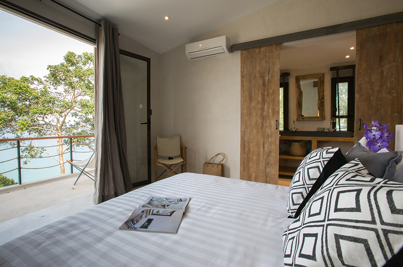 Koh Koon Bedroom with Ocean View | Koh Samui, Thailand