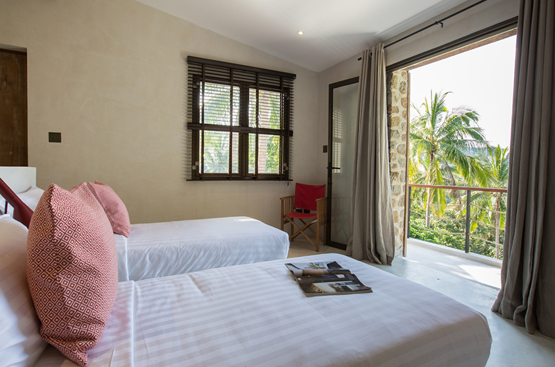Koh Koon Twin Bedroom with Balcony | Koh Samui, Thailand