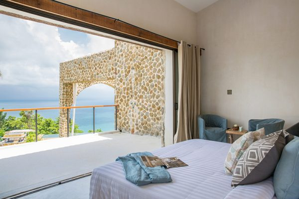 Koh Koon Bedroom Side with Balcony | Koh Samui, Thailand