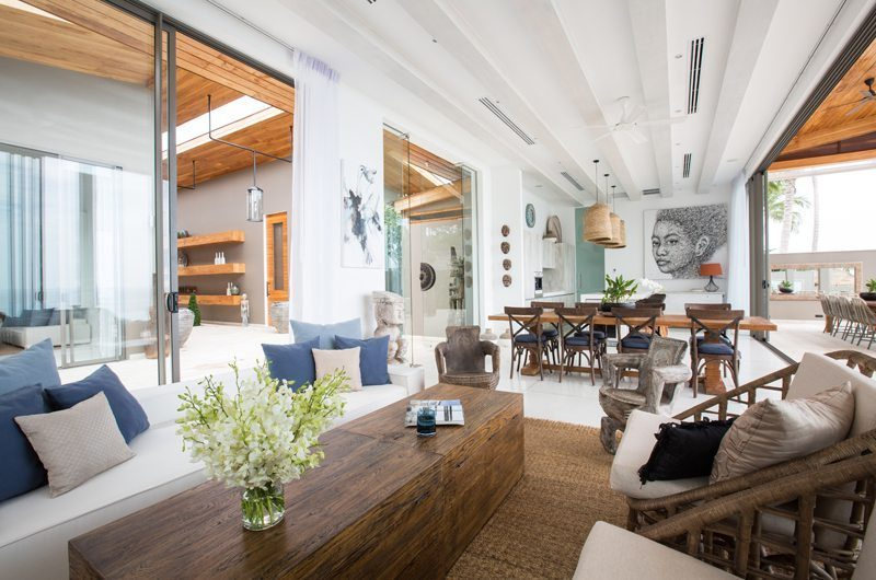 Villa Pavana Living And Dining Area | Koh Samui, Thailand