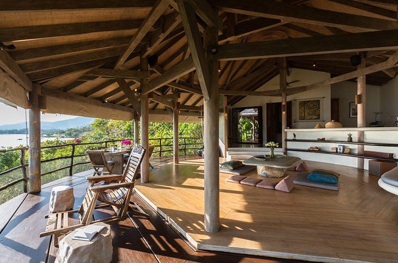 Villa Samudra Open Plan Living Room | Koh Samui, Thailand