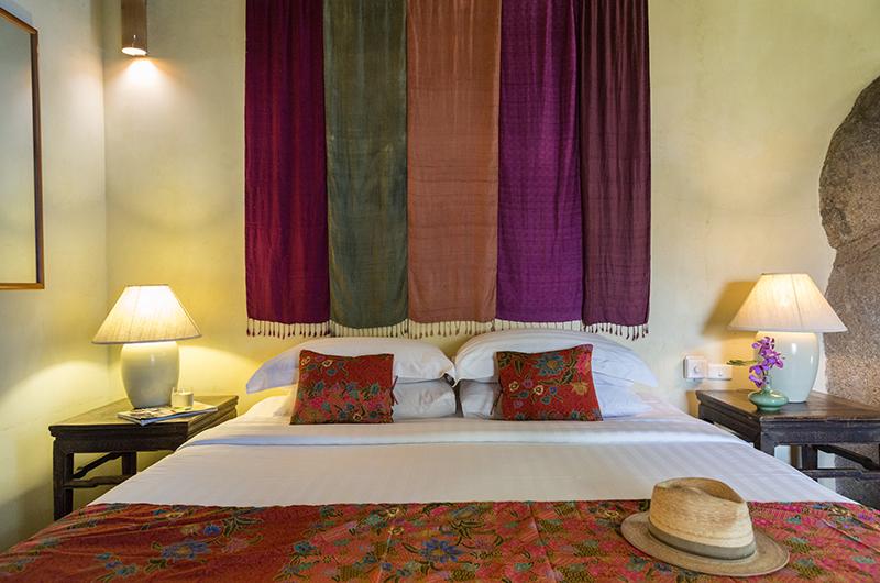 Villa Samudra Bedroom Two with Lamps | Koh Samui, Thailand