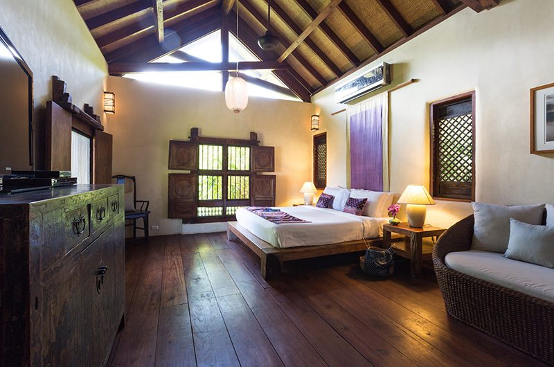 Villa Samudra Bedroom Three with Seating | Koh Samui, Thailand
