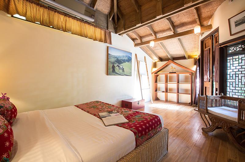 Villa Samudra Octagonal Bedroom with Chair | Koh Samui, Thailand