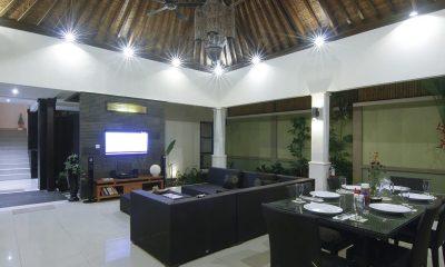 Gili Pearl Villa Living And Dining Pavilion | Gili Trawangan, Lombok