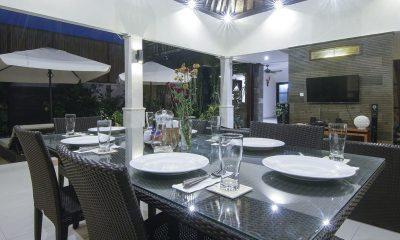 Gili Pearl Villa Dining Pavilion | Gili Trawangan, Lombok