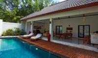 Kokomo Resort Swimming Pool   Gili Trawangan, Lombok