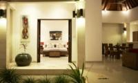 Kokomo Resort Indoor Living Area   Gili Trawangan, Lombok