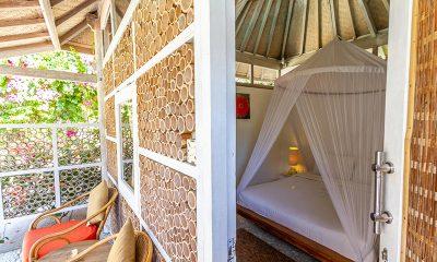 Les Villas Ottalia Gili Meno Bedroom Entrance | Gili Meno, Lombok