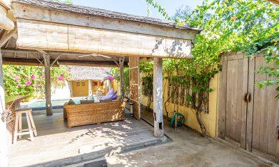 Les Villas Ottalia Gili Meno Entrance | Gili Meno, Lombok