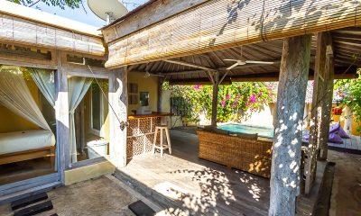 Les Villas Ottalia Gili Meno Seating | Gili Meno, Lombok