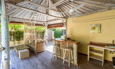 Les Villas Ottalia Gili Meno Kitchen and Living Area | Gili Meno, Lombok