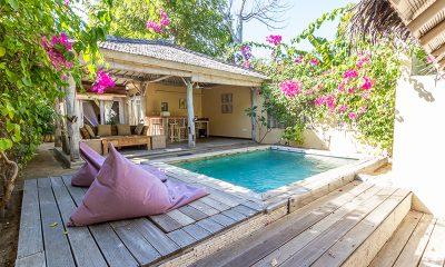 Les Villas Ottalia Gili Meno Pool Area | Gili Meno, Lombok